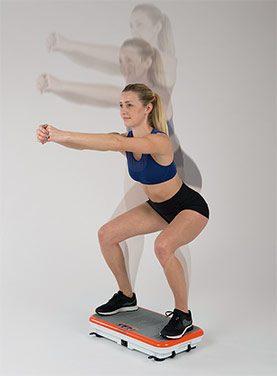 Gymbit Vibroshaper aktívne cvičenie