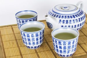 zelený jačmeň čaj