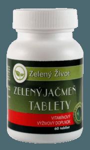 zelený jačmeň - tablety