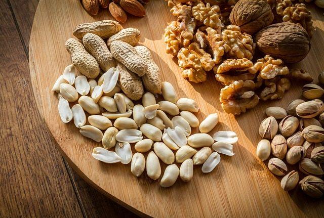 koenzým v arašidoch