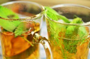 pestrec čaj