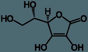 štruktúra vitamínu C