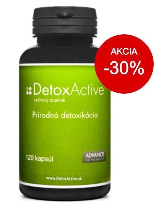 DetoxActive - akcia, zľava 30%