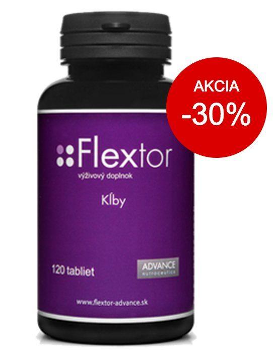 Flextor - zľava, akcia 30%