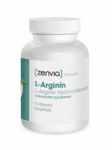 L-Arginín kapsuly Zenvia recenzia