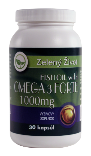 Fish Oil with Omega-3 Forte 1000mg 30kapsúl-recenzia