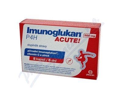 Imunoglukan P4H Acute recenzia