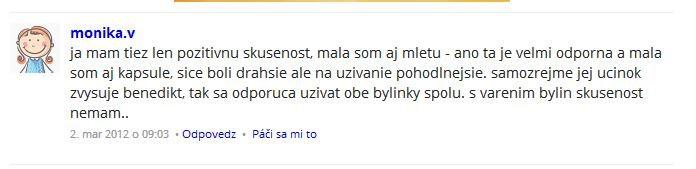 Benedikt lekársky Organika skúsenosti