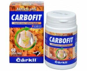 Carbofit 60 kapsúl recenzia