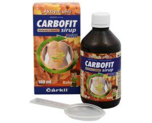 Carbofit sirup 100ml recenzia