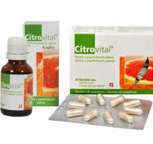 Citrovital kvapky + kapsuly recenzia