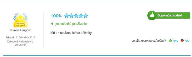Cordyceps sinensis prášok hodnotenie