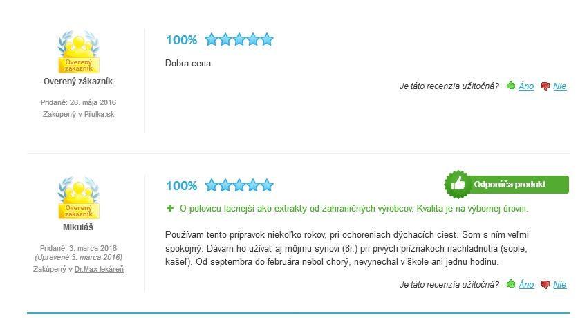 Echinacea extrakt tinktura hodnotenie