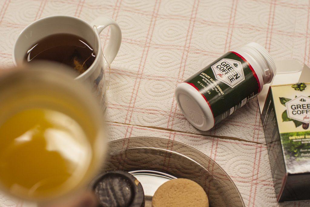 Green Coffee Plus užívajte spolu s jedlom...