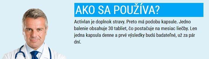 Activlan - tak je to kapsula alebo tableta?