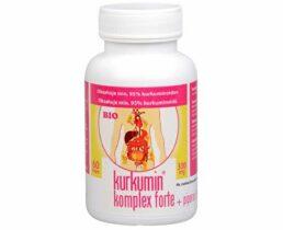 BIO kurkumín komplex Forte s piperínom recenzia