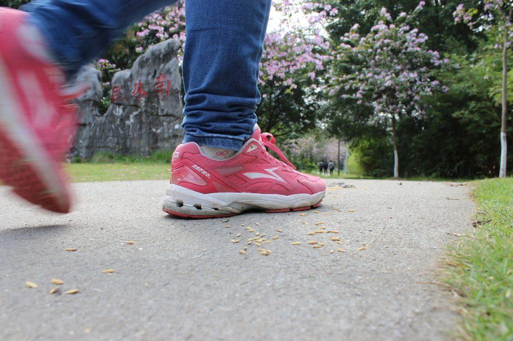 chôdza a beh sú zdravé