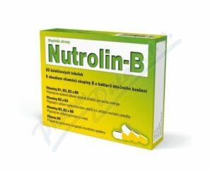 Nutrolin-B 20 kapsúl recenzia