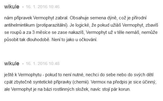 Phyteneo Vermophyt skúsenosti