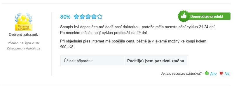 Sarapis Plus diskusia