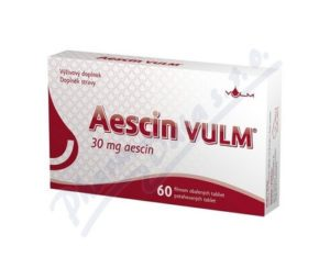 Aescin VULM 60 tabliet recenzia