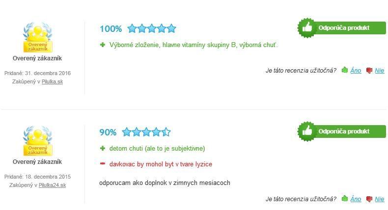 Cebion 2x multi sirup hodnotenie