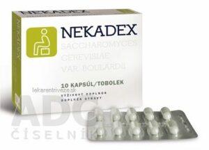 Nekadex 10 kapsúl recenzia