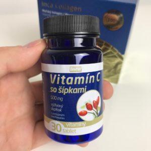 Vitamin C so šípkami - akcia k Inca Collagen