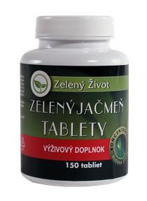 Zelený jačmeň ZelenýŽivot tablety