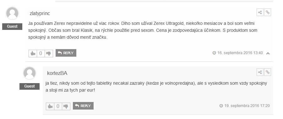 Zerex Klasik hodnotenie