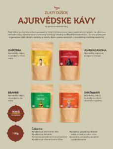 Ajurvédske kávy Zlatý dúšok recenzia