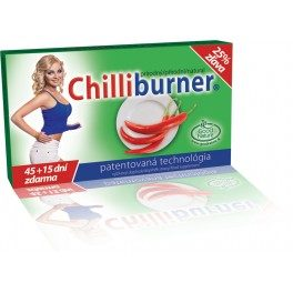 Chilliburner 60 tabliet akcia 45 + 15 zdarma recenzia
