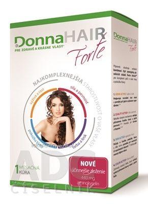 Donna Hair Forte - všetko o výživovom doplnku na lepší rast a kvalitu vašich vlasov - oplatí sa kúpiť?