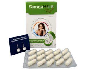 Donna Hair Forte + náušnice Swarovski recenzia