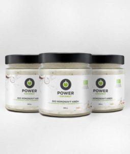 Kokosový krém Powerlogy triple pack recenzia