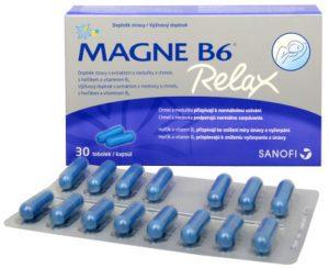 Magne B6 Relax kapsule recenzia