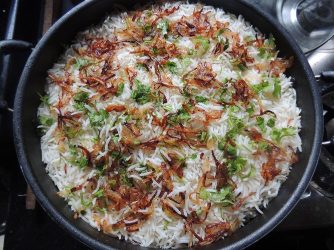 Basmati ryža