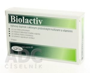 Biolactiv 20 kapsúl recenzia