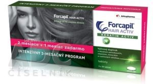 FORCAPIL HAIR ACTIV tbl 3x30 ks (90ks)