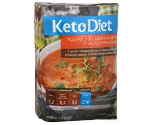 KetoDiet proteínová polievka guláš