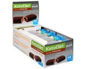 KetoDiet proteínová tyčinka čokoláda