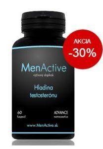 MenActive pre normálnu hladinu testosterónu