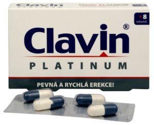 Clavin Platinum 8 kapsúl recenzia