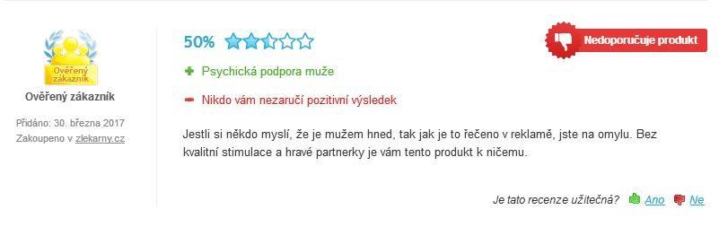 Clavin Platinum hodnotenie užívateľa