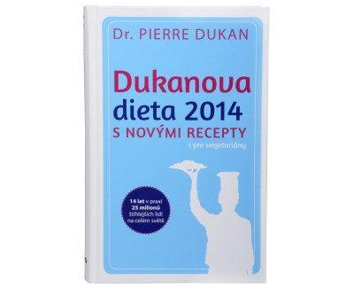 Kniha Dukanova diéta 2014 nove recepty aj pre vegetariánov