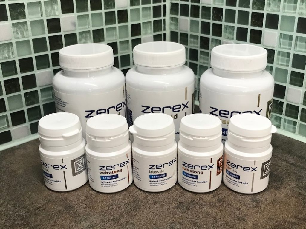 Zerex - všetky balenia (Klasik, Extralong, Ultragold)