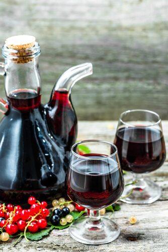 Arónia čiernoplodá víno - recepty