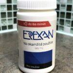 Erexan podpora erekcie recenzia