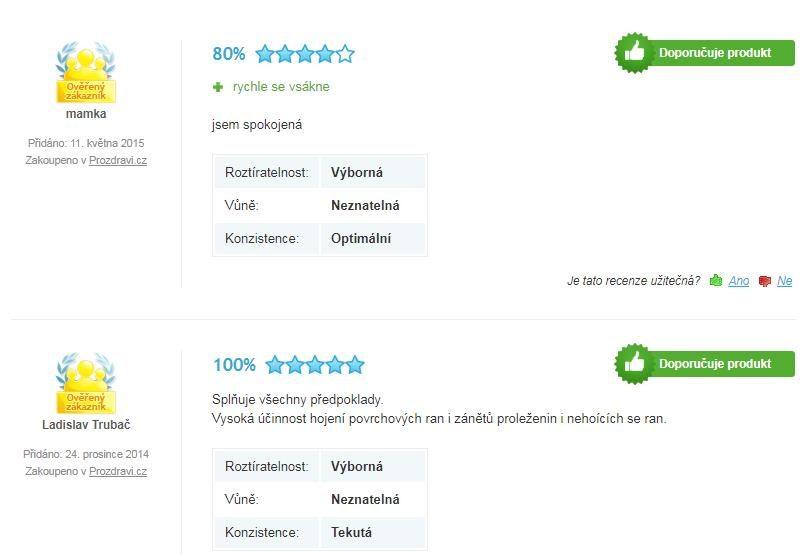 Borákový olej BIO značky Saloos hodnotenia na Heureke