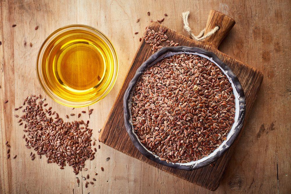 Ľanový olej semienka